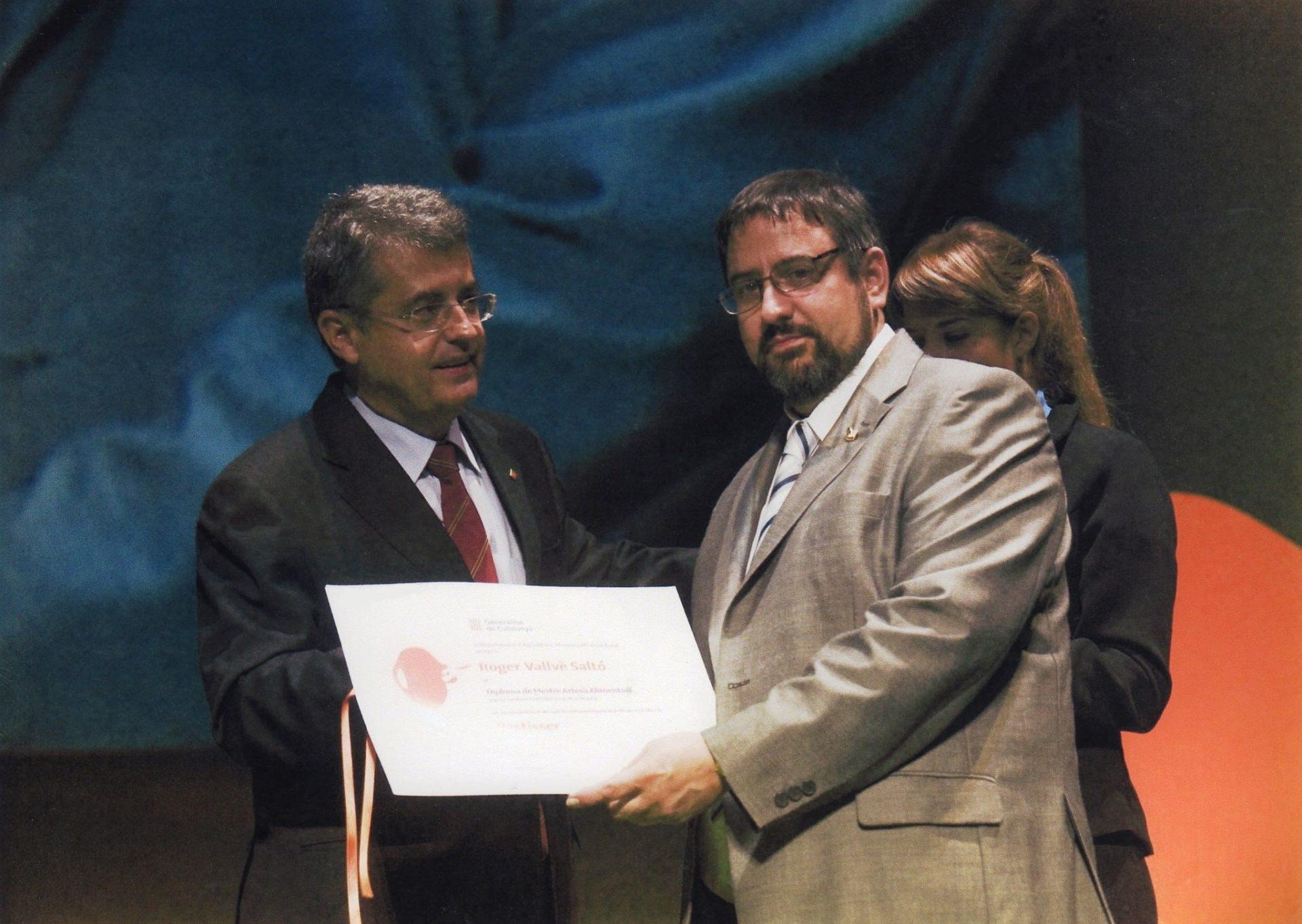 El delegat del Govern a Tarragona ofereix una recepció als guardonats amb els Premis Tàstum