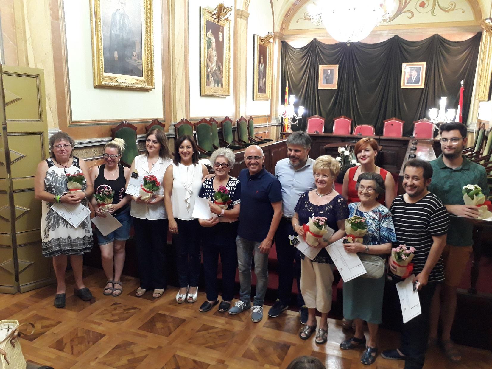 """Lliurament de premis del 9è Concurs """"El Barri en Flor"""""""